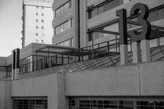 Numbers in Geometry (Lea Ruiz Donoso) Tags: blackandwhite edificio building arquitectura architecture bn bw blancoynegro sony geometric lineas lines monochrome monocromático monocromo cityscape paisajeurbano