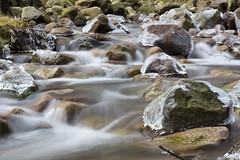 Capped in Ice (steve_whitmarsh) Tags: aberdeenshire scotland scottishhighlands highlands ice waterfall rocks longexposure water stream burn topic rockpaper abigfave