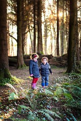 Searching for the Gingerbread House (Full Auto Shooter) Tags: adventure childhood goldenlight portrait canon magic countyantrim belfast belvoir woods environmentalportrait forest