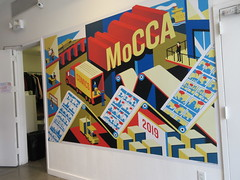 MoCCA Fest NYC 2019 Cartoon Convention 5525 (Brechtbug) Tags: mocca fest 2019 nyc convention museum comics cartoon art metropolitan west exhibition space 46th street between 11th 12th aves avenues new york city exposition exterior facade building entrance front floor panorama shot con conventions society illustrators 04072019 newspaper funnies saturday sunday comix illustration comic book artists comicbook sol event april wall poster