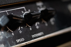 The Vadis - Speed and Intensity Controls (Lenny Bander) Tags: amplifier electric tremelo australian vadis rock roll 60s