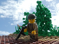easy company (droco_productions) Tags: theminifigco lego ww2 101stairborne american screamingeagles
