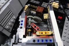 6 - Mechanism (KirtonBricks) Tags: millennium falcon lego mod moc 75192 custom star wars build building bricks gun technic gear