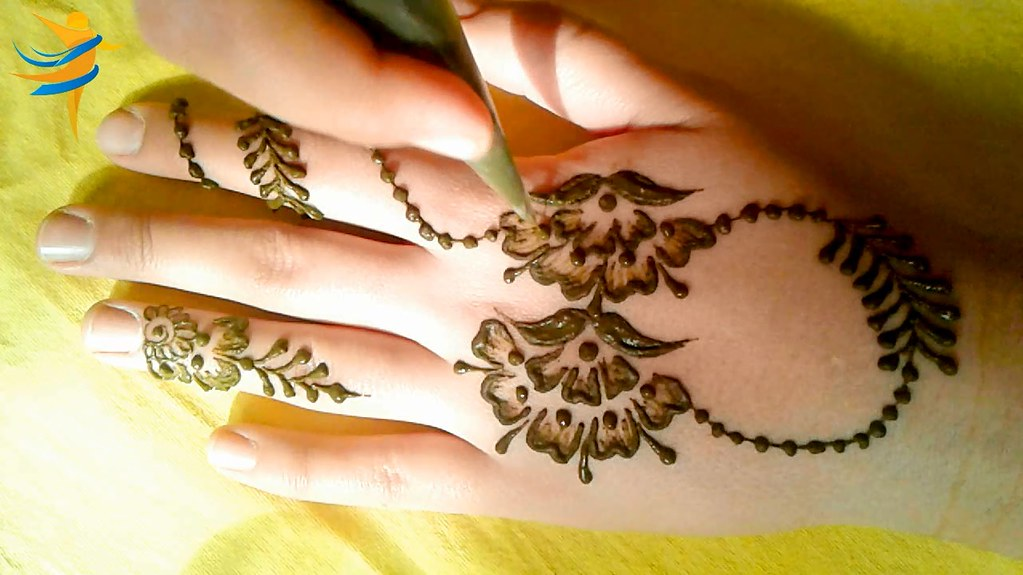 The World S Best Photos By Simple Henna Design Flickr Hive Mind