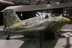 191614 Messerschmitt Me163B-1a  RAF Cosford - 18-12-18 (MarkP51) Tags: wr191614 messerschmitt me163b1a luftwaffe ww2 rocket interceptor rafmuseum cosford england preserved military aircraft airplane plane image markp51 nikon d7200 nikon24120f4vr