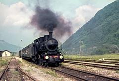 FS Gr 625.002 Roncegno 29/05/1977. Foto Roberto Trionfini (stefano.trionfini) Tags: train treni bahn zug steam dampf fs gr625 italia italy