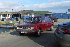 1981 Austin Maxi 1750 (occama) Tags: lrl45x 1981 austin maxi old car cornwall uk marroon british bmc leyland cornish sun sea harbour red damask