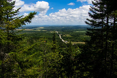 Up In The Clouds (Northern Wolf Photography) Tags: 14mm clouds em5 farms forest haystack maine mountain road sky trees volcano woods mapleton unitedstates us
