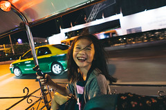 Tuk Tuk Ride. (MichelleSimonJadaJana) Tags: color sony ilce7rm3 α a7riii a7r iii full frame fullframe fe mount 28mm 21mm ultra wide converter f2 nex vsco documentary lifestyle snaps snapshot street photography bangkok thailand
