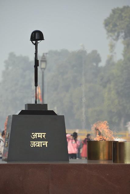 Amar Jawan Jyoti, India Gate, Delhi