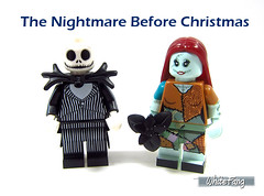 The Nightmare Before Christmas (WhiteFang (Eurobricks)) Tags: lego minifigures cmfs collectable walt disney mickey characters licensed design personality animated animation movies blockbuster cartoon fiction story fairytale series magic magical theme park medieval stories soundtrack vault franchise review ancient god mythical town city costume space