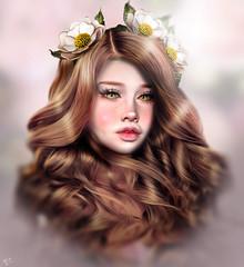 Meriluu Lumoss (meriluu17) Tags: profile portrait hair doll dolly cute closeup baby girl girly pink