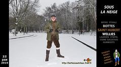 En Saint Hubert dans la neige (pascalenbottes1) Tags: bottescaoutchouc rubberboots stivalidigomma botasdehule gummistiefel wellies gumboots bottédecaoutchouc botteux bottes botas ciszme laarzen caoutchouc stivali stövler boots stiefel rubber wellingtonboots cap casquette pascal pascallebotteux rainboots galochas ambc bottescaoutchoucfreefr httpbottescaoutchoucfreefr autoroute motorway neige snow snowy achères achèreslaforêt velours côtelé corduroy ciré cirés cirésverts pvc raingear rainwear