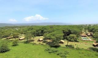 Africa Safari Lake Manyara glamping view