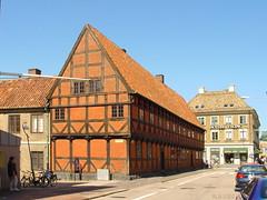 Helsingborg, Jacob-Hansen-Haus (Mecklenburg-Foto) Tags: fachwerkhaus helsingborg schonen schweden