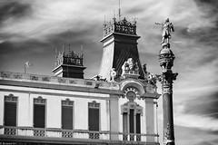 Colom BW (rossendgricasas) Tags: colom colón columbus barcelona catalonia statue bw bn monochrome photo adobelightroom nikon7100