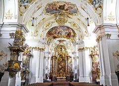 Cloister Schäftlarn (werner boehm *) Tags: wernerboehm klosterschäftlarn kloster bavaria interior architecture baroque barock