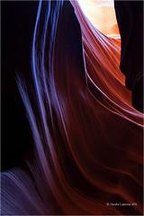 The Colors of Sandstone (Sandra Lipproß) Tags: upperantelopecanyon page arizona slotcanyon canyon sandstone erosion outdoor nature usa southwest tsébighánílíní navajonation texture colours