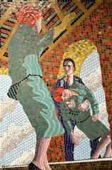Vertigo (R~P~M) Tags: art mosaic mural alfredhitchcock film movie train railway station leytonstone centralline londonunderground london england uk unitedkingdom greatbritain