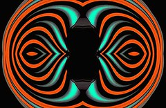 Black Sun (Kombizz) Tags: kombizz kaleidoscope experimentalart experimentalphotoart photoart epa samsung samsunggalaxy fx abstract pattern art artwork geometricart rust blue black c493 blacksun corona plasma kelvins radiation