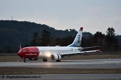 LN-BKE Boeing 737 MAX 8 63970 Norwegian (DigitalAirliners.com) Tags: boeing 737 max 8 63970 norwegian lnbke