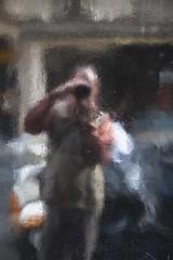 Anthropocentrisme (Gerard Hermand) Tags: 1810175918 gerardhermand france paris canon eos5dmarkii peinture reflection autoportrait black me moi noir paint selfportrait reflet rue reflexion street voiture car