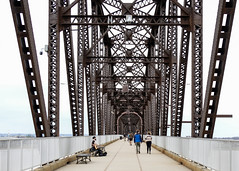 Big Four Bridge 3/13/19 #musician #bridges #louisville #kentucky (Sharon Mollerus) Tags: louisville ky cfptig19