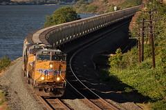 5/19/13 The Dalles, OR (Austin Jacox) Tags: union pacific trains grain oregon columbia river gorge dalles nikon