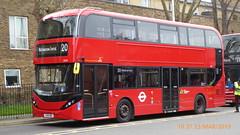 P1150191 2543 YX19 ORU at Walthamstow Central Station Bus Station Walthamstow London (LJ61 GXN (was LK60 HPJ)) Tags: hackneycommunitytransportgroup ctplus alexanderdennistrident2hybrid enviro400hybrid enviro400hhybrid enviro400h enviro400hybridcity enviro400hhybridcity enviro400hcity e400h city 105m 10500 10500mm 2543 yx19oru j4355