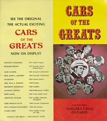 Cars Of The Greats Brochure (Donald Deveau) Tags: cars booklet