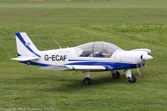 G-ECAF - 2000 build Robin HR200/120B, taxiing to the fuel pumps on arrival at Barton (egcc) Tags: 345 anglianflightcentres barton bulldogaviation cityairport egcb fgtzg gbzet gecaf hr200120b lightroom manchester robin