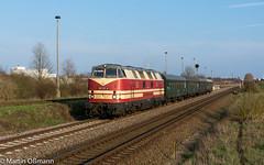 228 321 in Aschersleben (Emotion-Train) Tags: 228 321 118 v180 dicke babelsbergerin cargo logistik rail aschersleben abdrücksignal