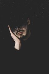 Head in the Dark | 3 (_ALBX_) Tags: indoor studio man makeup creative selfportrait conceptual portrait photography photographer canon canon80d sigma 30mm albxphoto albx art