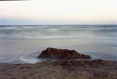 Vista de playa (mavricich) Tags: película pinamar playa paisaje film foto argentina agua arte analógico analogic arena amanecer mar mañana mamiya lomography lomo