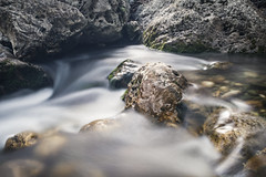 River Flow (panos_adgr) Tags: nikon d7200 long exposure photography photo stacking forest river flow water motion multiple rocks evia greece travel excursion landscape nature