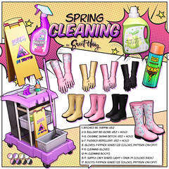 Spring Cleaning by Sweet Thing. (Sweet Thing.) Tags: sl secondlife sweetthing gacha theepiphany springcleaning maitreya hourglass slink belleza freya