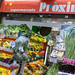 Mediterranean fruits and vegetables at the Spanish supermarket