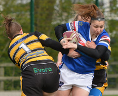 Hair Apparent (Feversham Media) Tags: yorkcityknightsladiesrlfc wakefieldtrinityladiesrlfc womenssuperleague rugbyleague york womensrugbyleague yorkstjohnuniversity