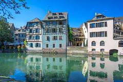 Strasbourg (staetebau) Tags: france frankreich strasbourg strasburg lillcanalisé outdoor maisonàcolombages fachwerkhaus halftimbered