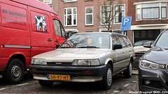 Toyota Camry 2.0 XLi Stationwagon 1987 (XBXG) Tags: sh97ht toyota camry 20 xli stationwagon 1987 toyotacamry stationcar stationwagen station wagon kombi estate break kaasmarkt oude rijn leiden nederland holland netherlands paysbas youngtimer old classic japanese car auto automobile voiture ancienne japonaise japon japan asiatique asian vehicle outdoor