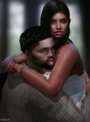 Candi & Dangelo (A. Doutzen) Tags: photoshop photograpy portrait art avatar second secondlife couple