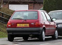 L832 XWD (1) (Nivek.Old.Gold) Tags: 1993 ford fiesta lx 5door 1299cc