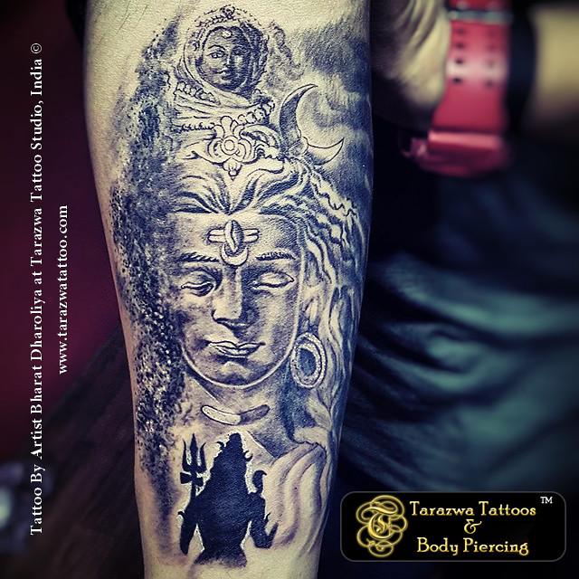 1414edd48 Shiva Tattoo Design By Tarazwa Tattoo Studio India (Tarazwa Tattoo Studio)  Tags: tattoo
