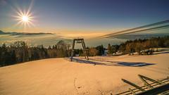 Pfänder to look at Lake Constance (marcelweikart) Tags: sony 7rii samyang 14mm28 pfänder sonnenstern österreich austria bodensee lake constance sun sonne wasser farbe color capture image neu new lens