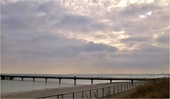 Sea Mole (farmspeedracer) Tags: sea coast baltic sky cloud winter light germany february februar 2019 wind