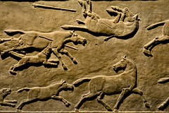 London 2018 – British Museum – Horses on the run (Michiel2005) Tags: ashurbanipal horse paard bm britishmuseum museum assyria relief reliëf england engeland grootbrittannië greatbritain britain uk vk unitedkingdom verenigdkoninkrijk london londen