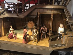 Jabba's dream house... (skott00) Tags: jabba rotj actionfigures playset starwars