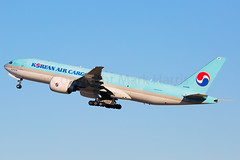 Korean Air Cargo Boeing 777- FB5 HL8285 (Mark Harris photography) Tags: spotting lax la canon 5d aviation plane