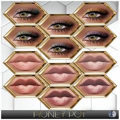 HoneyPot GENUS Makeup Collection Cora (honeypot.beauty) Tags: secondlife gaming avatar fashion beauty genus mesh bento makeup cosmetics trends eyes lips eyeshadow eyeliner lipstick gloss