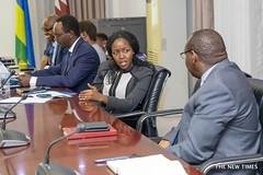 The Rwanda and Qatar Government during negotiation for Bugesera International Airport. Photo by Emmanuel Kwizera (thenewtimesrwanda) Tags: quatar qatar rwanda kigali bugesera international airport
